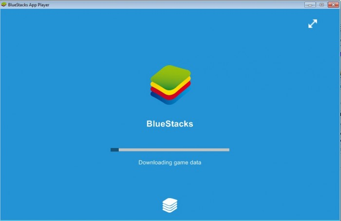 Запуск bluestacks